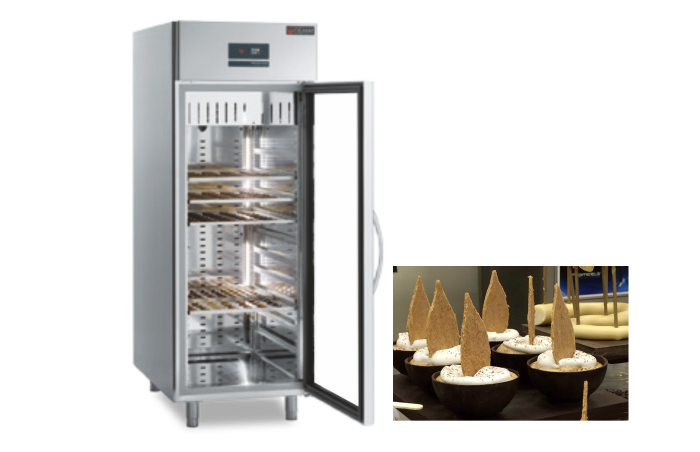 Dulap frigorific - conservat ciocolata