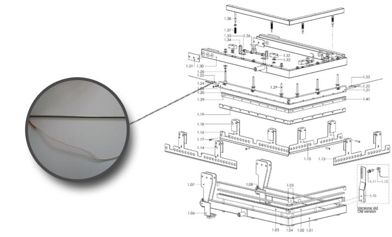 Rezistenta bara sudura lunga - Masini de ambalat - Minipack Torre