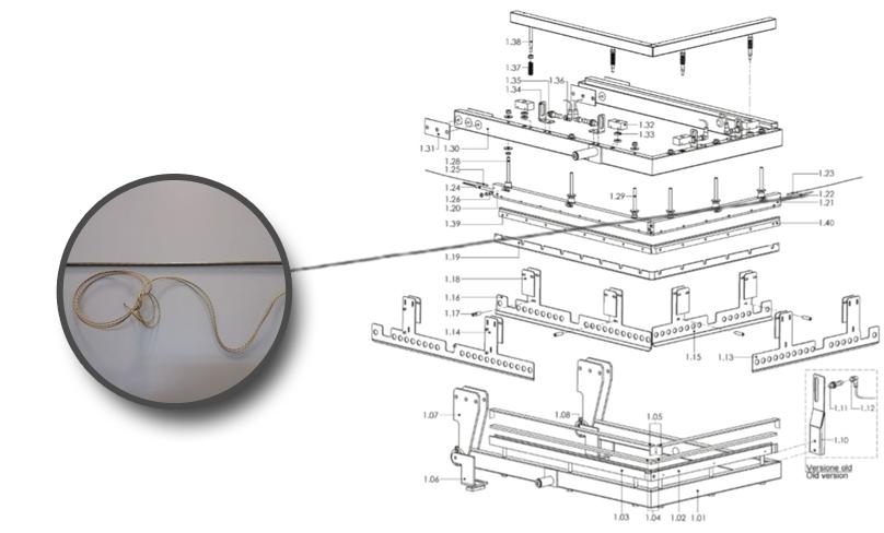 Rezistenta bara sudura scurta - Masini de ambalat - Minipack Torre