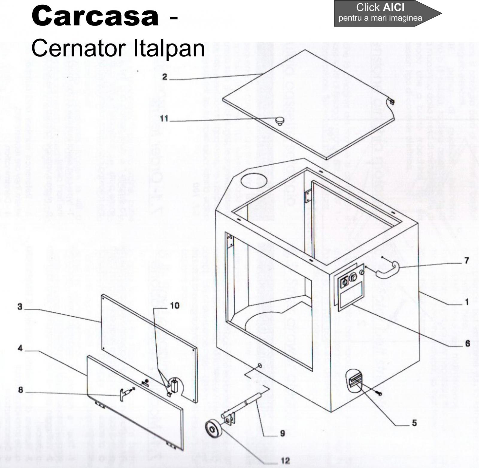 Documentatie tehnica  - cernator Italpan