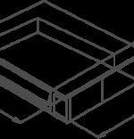 Cuptor electric modular cu 2 tavi dimensiuni 40x60