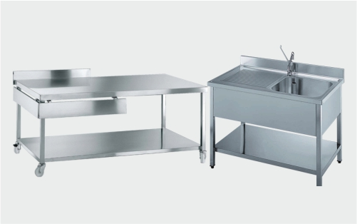 Mobilier inox si accesorii