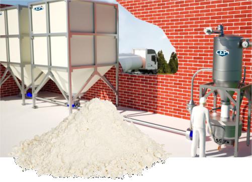 Instalatii de stocare transport dozare fainuri, alte ingrediente