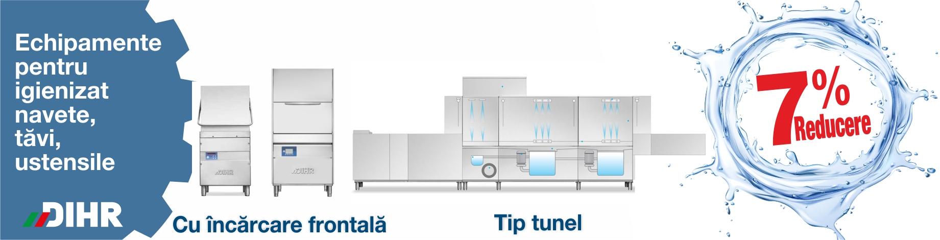 7% REDUCERE  la echipamentele pentru igienizat